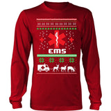 T-shirt - EMS Ugly Christmas Sweater - Long Sleeve
