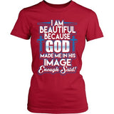 T-shirt - God Made Me In His Image