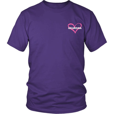 T-shirt - I Love Grandma