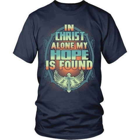 T-shirt - In Christ Alone
