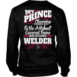 T-shirt - My Prince Charming Welder (Back)