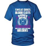 T-shirt - Only Real Girls Become Welders