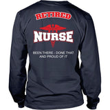 T-shirt - Retired Nurse - Been There Done That
