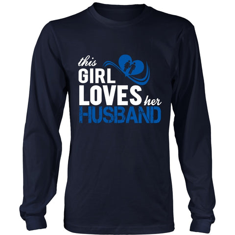 T-shirt - This Girl Loves Her Husband