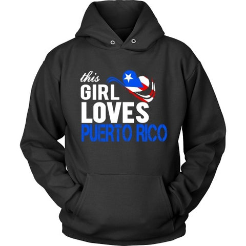 T-shirt - This Girl Loves Puerto Rico