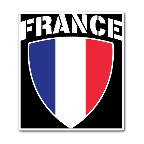 France Pride Vinyl Sticker (Free Shipping)