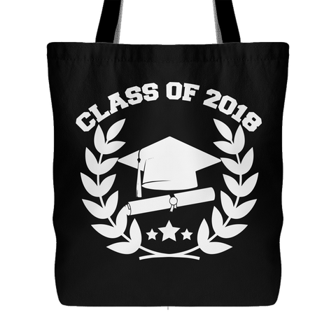 Class of 2018 Tote Bag (Free Shipping)