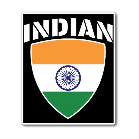Indian Pride Vinyl Sticker (Free Shipping)