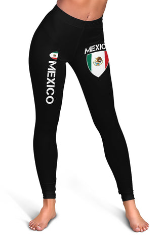 Mexico Proud Mexico Flag Leggings