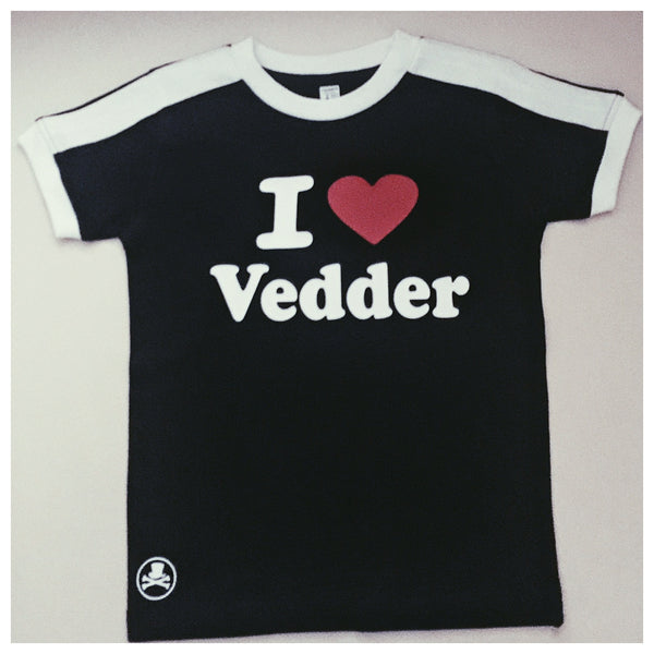 I Heart Vedder Adult tee