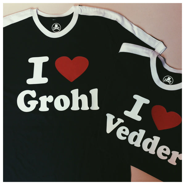 I Heart Grohl Adult tee