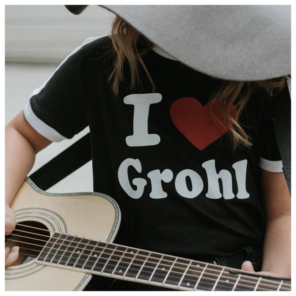 I Heart Grohl kiddie tee