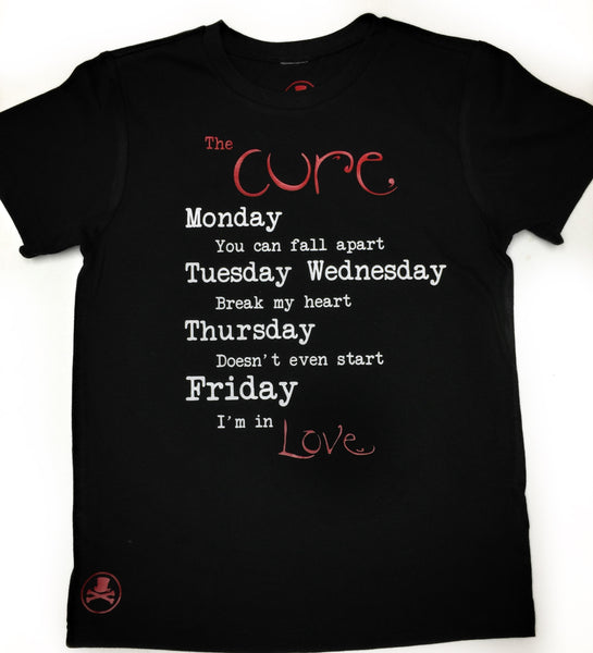 The Cure Adult tee