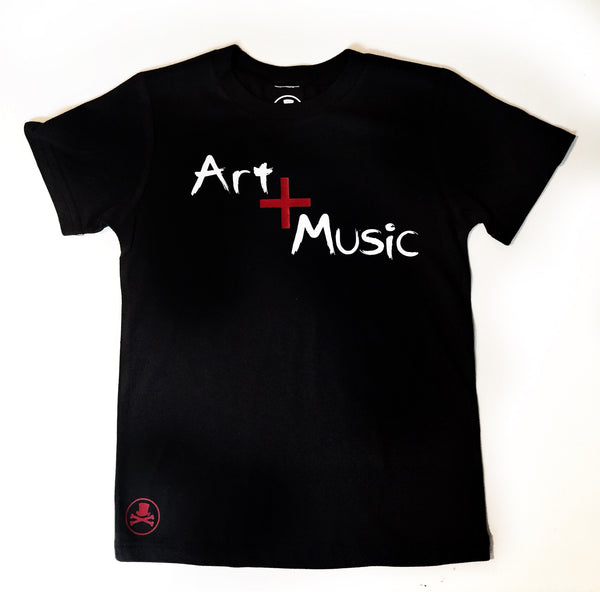 Art + Music Adult Tee