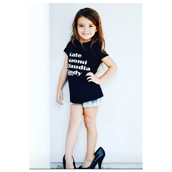 Original Supermodels kid tee