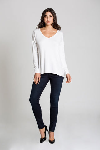 V-Neck Long Sleeve (Regular Length)