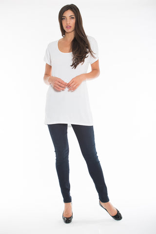 Scoop Tee (Long Length)