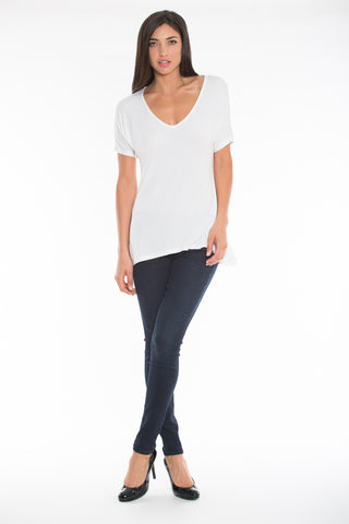 V-Neck Tee (Regular Length)