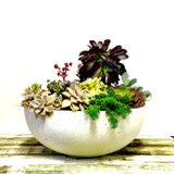 Large Outdoor Bowl (White)