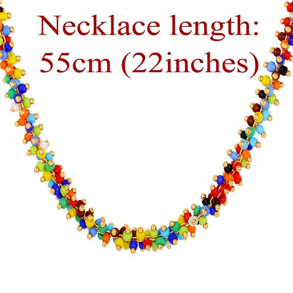 J0021 Coral Bead Necklace