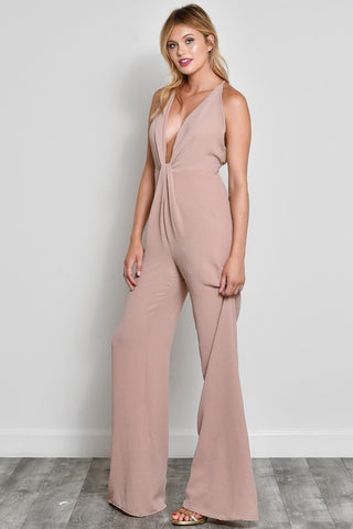 TAUPEY TWIST JUMPSUIT