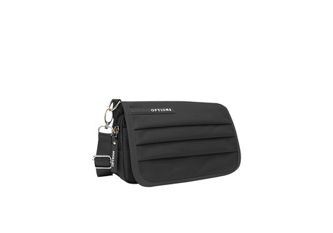 RIDGE CROSSBODY BLACK - SG TREND HUNTER