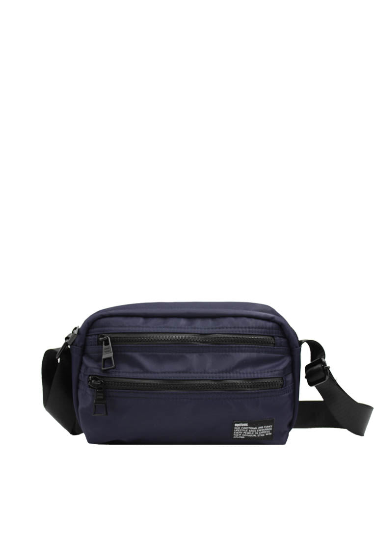 Options Lot Messenger Bag Navy