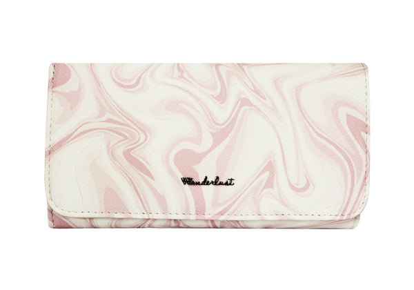 LONG MARBLE PINK WALLET - SG TREND HUNTER