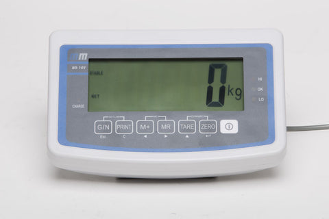Check-weighing indicator made from ABS plastic.