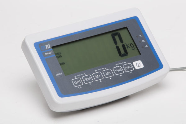Trade approved check-weighing indicator