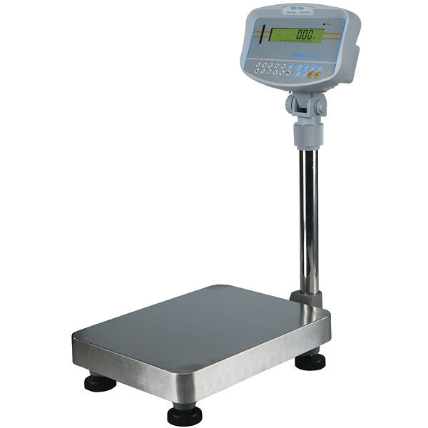 GBK: Bench Scale: Remote indicator. GFK: floor scale: high capacity weighing: parts counting: percentage weighing: check weighing: check counting.