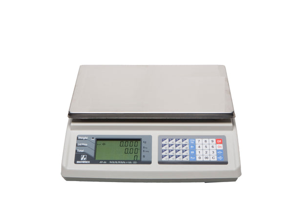 AP: Price computing scale: retail needs. Trade Approved and includes a high precision load cell.