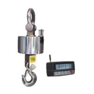 MCRH: wireless crane scale has multiple weighing capacities:  MI-104 wireless indicator