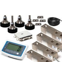 MFSK: Floor Scale Kit: Digital Weight indicator: Shear Beam Load Cells : Junction box: :Swivel Feet: Spacer Plates