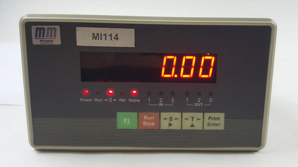 MI-114 Batching Controller. High precision indicator