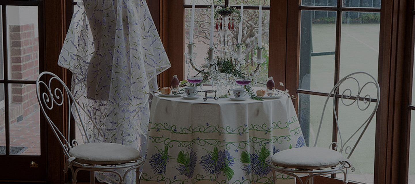 Gorgeous Range of Tablecloths to Brighten Up Your Home