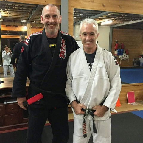 Wayne Ardley - John Will - BJJ Black Belt