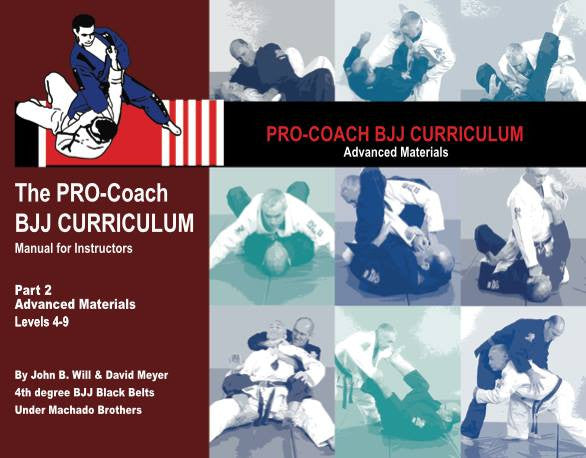 Pro BJJ Curriculum - Advanced Curriculum
