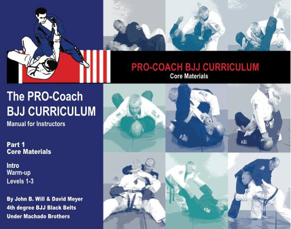 Pro BJJ Curriculum - Core Curriculum