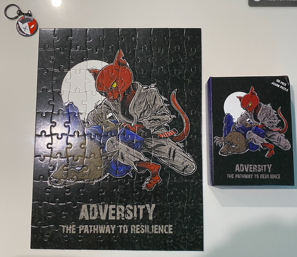 "Jigsaw Puzzle ""Adversity"""