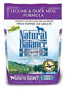 Natural Balance Legume & Duck Meal Dog Food