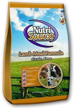 NutriSource Grain Free Lamb Dog Food