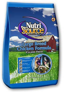 NutriSource Large Breed Chicken Grain Free Dog Food