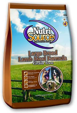 NutriSource Large Breed Lamb Grain Free