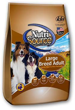 NutriSource Large Breed Lamb & Rice
