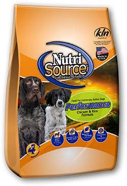 NutriSource Performance Dog Food