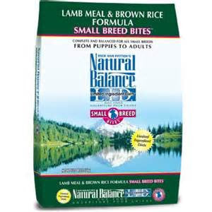 Natural Balance Lamb Meal & Brown Rice Small Breed Bites
