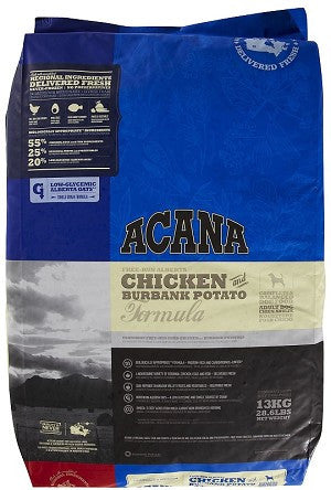 Acana Chicken & Burbank Potato Dog Food