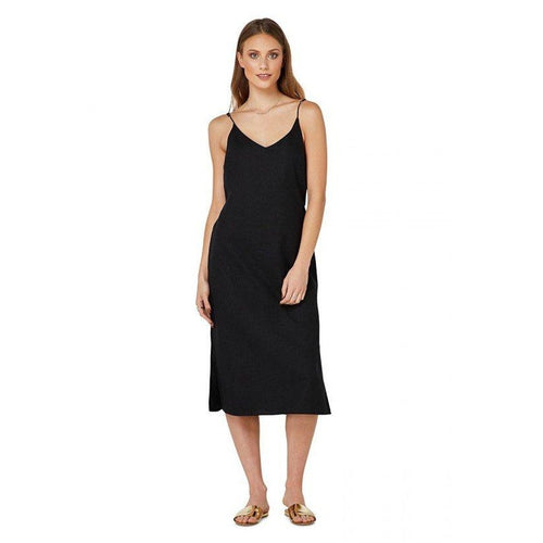 Elwood - kennedy slip dress black