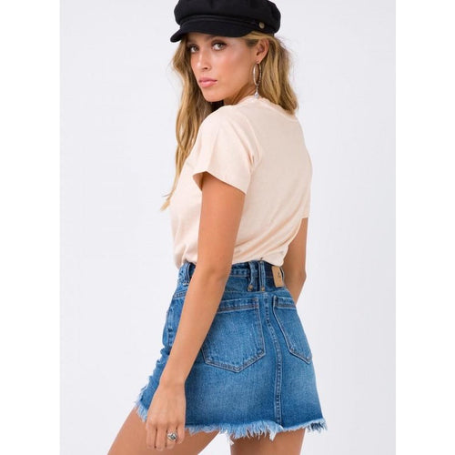 Thrills Co. - patti skirt vintage blue